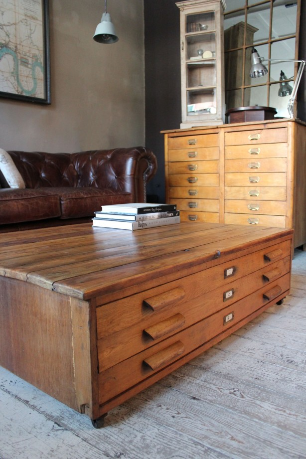 coffee table with drawers woodworking plans